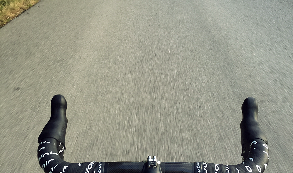 geradeaus.at, Rennrad, Natur, Radweg, Andy lässt Tini sitzen, Marathontraining