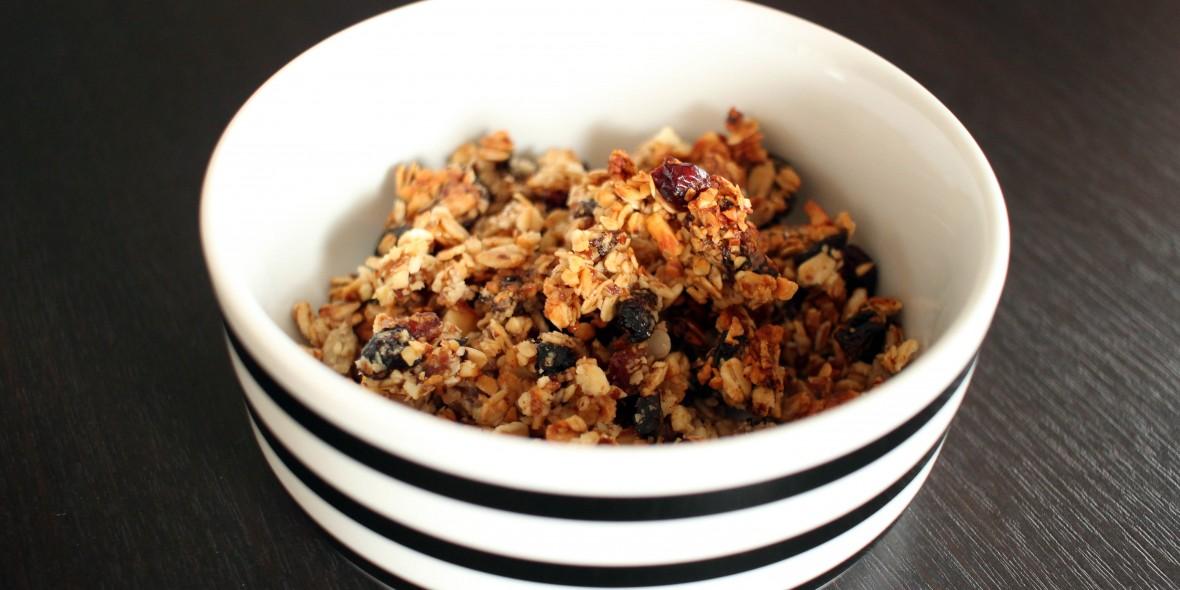 Granola, Homemade, Selfmade, Müsli, Geradeaus, Healthy, Energie