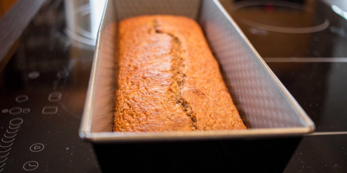 Paleo, Bananenbrot, Geradeaus, Rennradblog, Blog, Rezept, Gesund, Healthy, Essen, Food, Brot, Kuchen, Österreich
