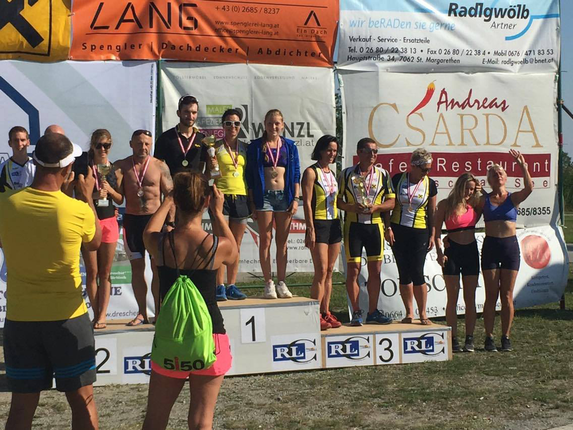 Mörbisch, Staffel, Mixed Triathlon, Sport, Rennrad, Rennradblog, Burgenland, Elke Seer, Katharina Seer
